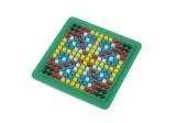 Mozaika malá plast 12x12cm v krabičce kreativní mozaika Teddies