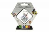 Rubikova kostka hlavolam přívěšek plast 3x3x3cm na kartě TM Toys