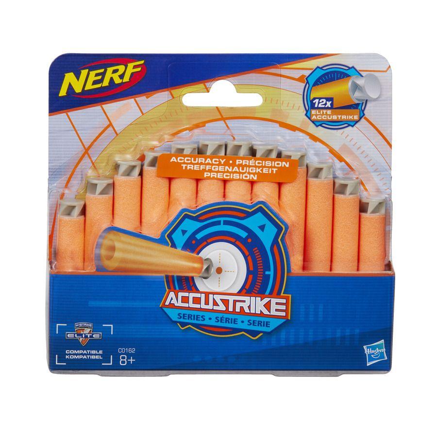 Nerf Accustrike náhradní šipky 12 ks Hasbro