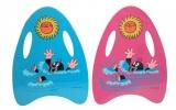 Plavací deska Krtek pěnová 33x45cm asst 2 barvy v sáčku Wiky
