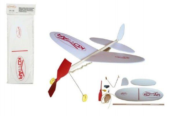 Letadlo Komár model pěna 39x31cm v sáčku Igralet