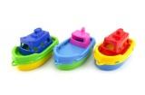 Loď/Lodičky do vody 3ks plast 14cm v sáčku Teddies