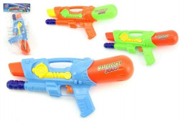 Vodní pistole 30cm plast asst 3 barvy v sáčku Teddies