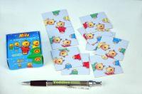Hlavolam Puzzle Míša 9 kartiček v krabičce