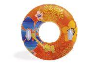 Kruh nafukovací 97cm asst 3 barvy v krabici Teddies