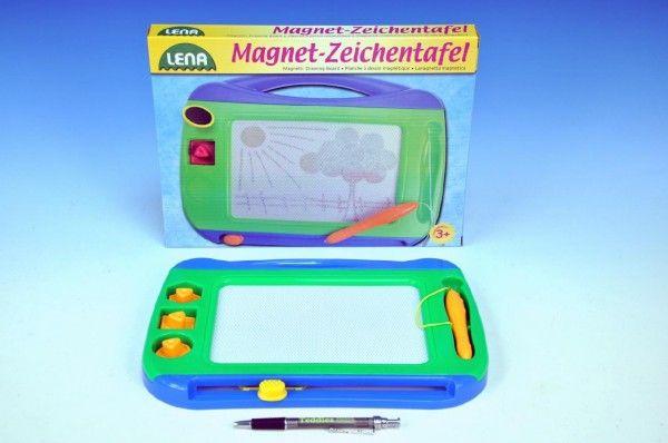 Magnetická tabulka barevná 31x24cm Lena