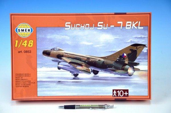 Model Suchoj SU - 7 BKL v krabici 35x22x5cm Směr