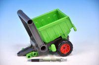 Přívěs vlečka aktivní za traktor plast 20cm od 24 měsíců