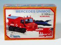 Stavebnice Monti 18 Komunal Mercedes 22x15x6cm modely Monti systém Beneš a Lát