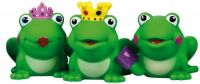 Stříkací zvířátka žába gumová asst 9ks v boxu hračka do vody Lena