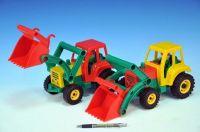 Traktor se lžící aktivní plast 35cm od 24 měsíců