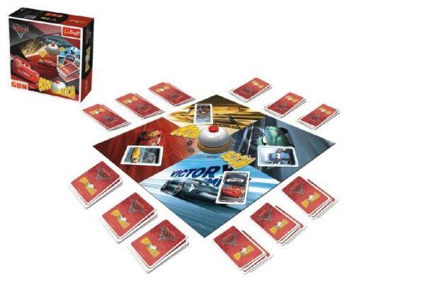 Boom Boom Auta/Cars 3 Disney společenská hra v krabici 26x26x8cm Trefl