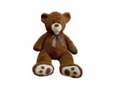 Medvěd s mašlí plyš 80cm 0+