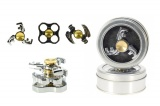 Fidget Spinner kov asst 3 druhy v plechové krabičce