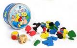 Grabolo 3D společenská hra dřevo v plechové krabičce