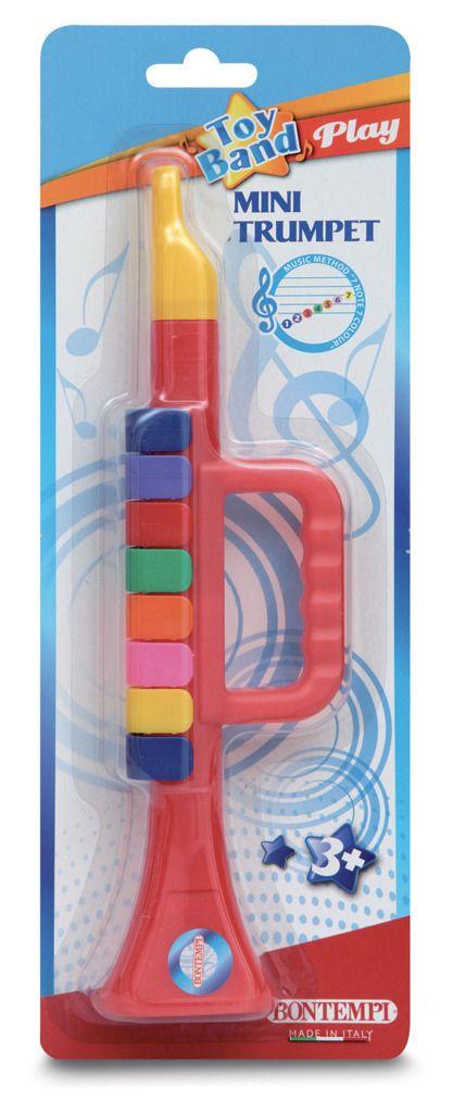 Trumpeta plastová s 8 klapkami Alltoys
