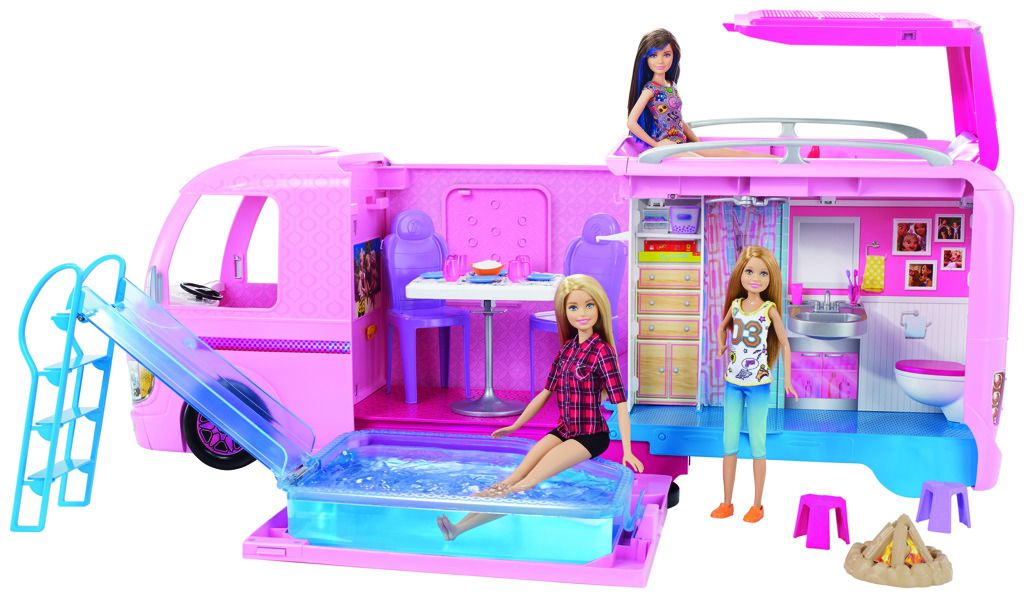 Barbie dream camper karavan snů Mattel