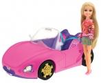 Módní panenka Sparkle Girlz se závodním autem Alltoys