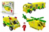 Stavebnice Seva Rescue 3 plast 537ks v krabici 35x33x8cm