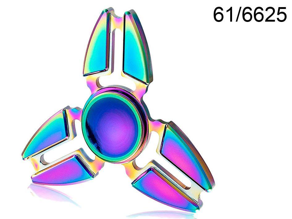 Spinner kovový duhový Crazy Gyro I Alltoys