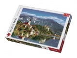 Puzzle Bled, Slovinsko 500 dílků 48x34cm v krabici 39,5x26,5x4,5cm Trefl