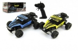 Teddis Auto RC Buggy plast/kov 20cm s adaptérem na baterie asst 2 barvy v krabici