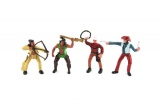 Figurka plast 10cm 12ks v boxu Teddies