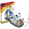 Puzzle 3D Zámek Neuschwanstein - 98 dílků