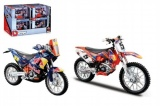 Motorka Bburago Red Bull plast 11cm asst 2 druhy v krabičce 12ks v boxu