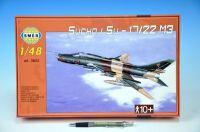 Model Suchoj SU - 17/22 M3 v krabici 35x22x5cm