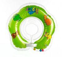 Plavací nákrčník Flipper zelený v krabici od 0 měsíců Teddies