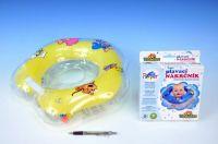 Plavací nákrčník Flipper žlutý v krabici od 0 měsíců