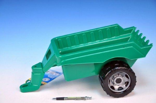 Přívěs vozík vlečka za traktor plast 50x20x27cm Lena