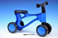Rolocykl modrý plast výška sedadla 26cm od 18 měsíců
